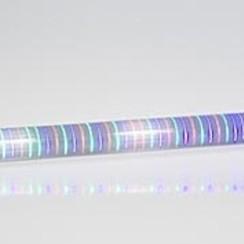 Rail met lopend LED-licht 1 m