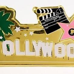 Wanddeco Hollywood 28 x 60 cm brandveilig