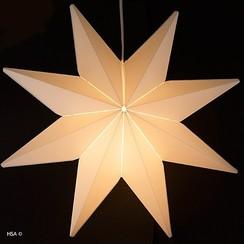 Kerstster met licht ø 49 cm brandveilig