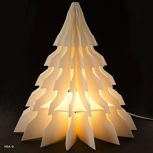 Kerstboom met licht 35 cm brandveilig