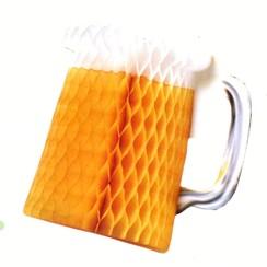 Decoratie bierpull 30 cm brandveilig