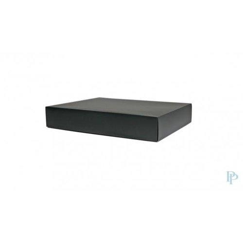Geschenkdoos zwart 25 x 20 x 5 cm