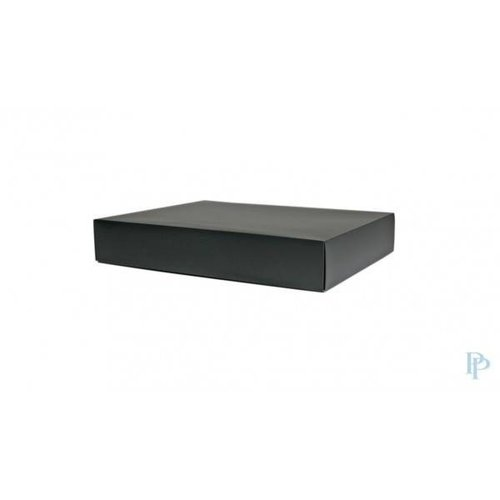 Geschenkdoos zwart 52 x 40 x 9 cm