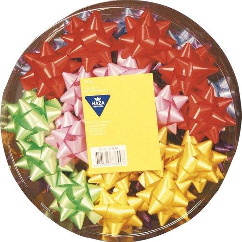 Haza Original Strik rozetten diverse kleuren 50 mm 50 stuks