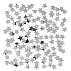 Confetti ster zilver 15 gr