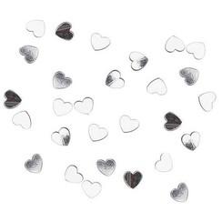 Confetti hart zilver 15 gr