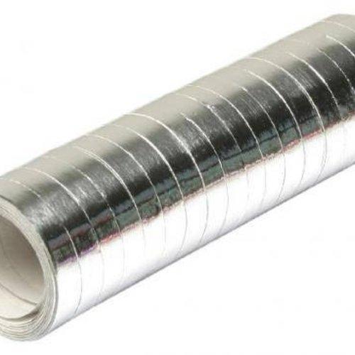 Serpentines zilver 4 m