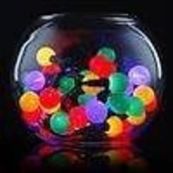 Lichtsnoer 50 gekleurde ledlampjes