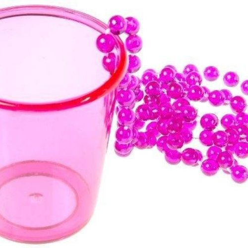 Shotglas aan ketting 5 x 6 cm