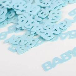 Confetti baby blauw 15 gr