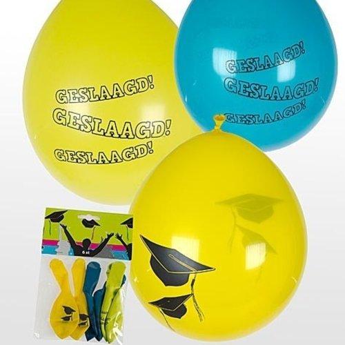 Folat Ballonnen geslaagd 6 stuks