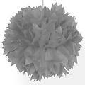 Folat Pompom zilver 30 cm