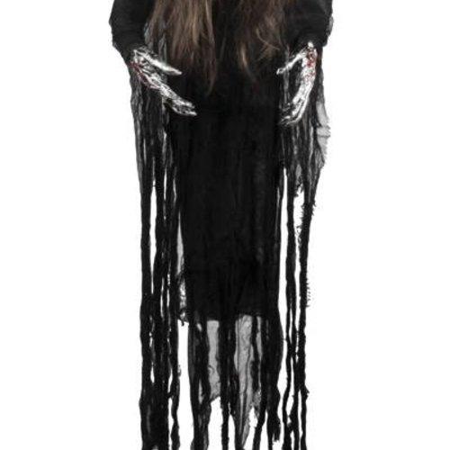 Boland BV Hangdeco zombie vrouw 170 cm