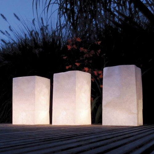 Haza Original Lichtzakjes wit 26,5 x 15,5 x 9 cm 5 stuks