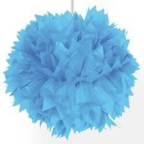 Folat Pompom lichtblauw 30 cm
