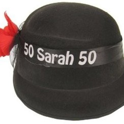 Vilten hoed Sarah