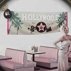 Banner Hollywood 74 x 220 cm