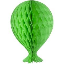 Decoratie ballon lichtgroen 37 cm