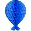 Folat Decoratie ballon blauw 37 cm