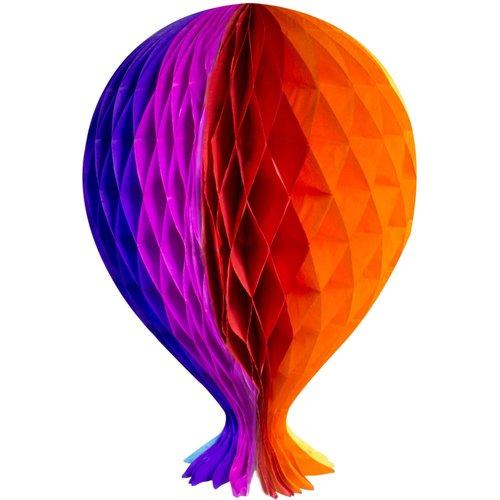 Folat Decoratie ballon regenboog 37 cm