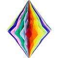 Folat Decoratie diamant regenboog 30 cm