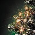 Kerstverlichting binnen 100 lampjes