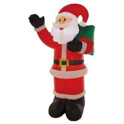 Opblaasbare kerstman luxe 180 cm