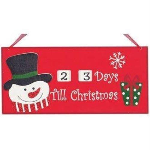 Aftelbord naar Kerstmis 28 cm