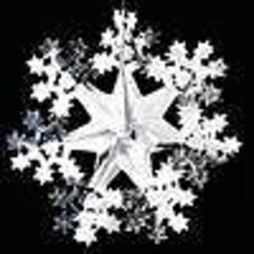 Kerstster folie 40 cm brandveilig
