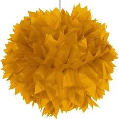 Pompom goud 30 cm
