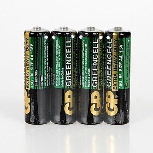 Batterij penlite of AA 4 stuks
