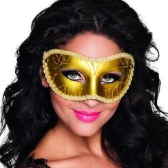 Oogmasker Gabriella goud