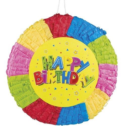 Boland BV Piñata happy birthday 40 x 40 cm