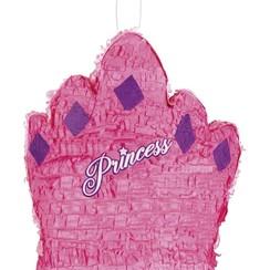 Piñata kroon prinses 41 x 37 cm