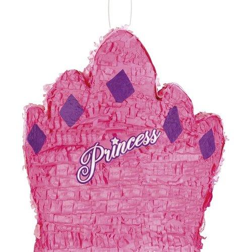 Boland BV Piñata kroon prinses 41 x 37 cm