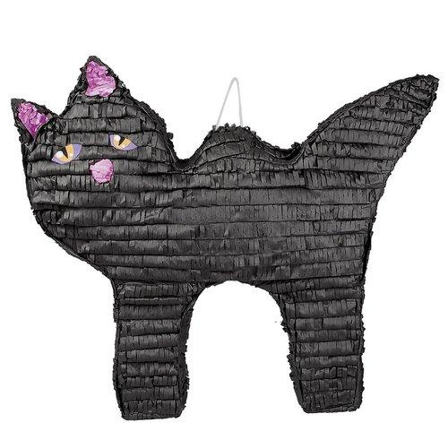 Boland BV Piñata zwarte kat 41 x 58 cm