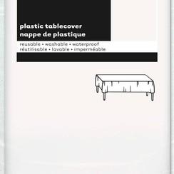 Tafelkleed wit 137 x 274 cm