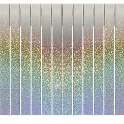 Folie slinger franje holografisch 6 m