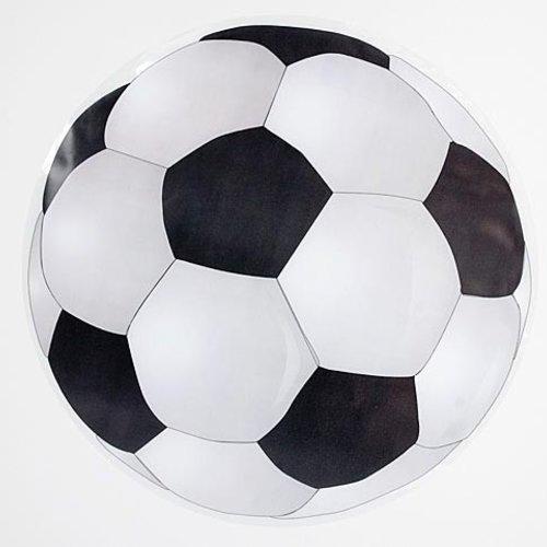 Raamsticker voetbal statisch 40 cm
