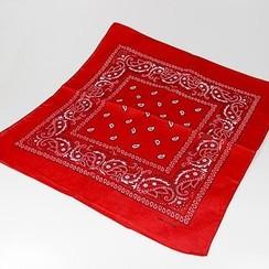 Boerenzakdoek rood 50 x 50 cm
