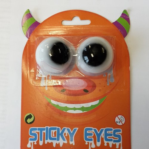 Sticky eyes op kaart