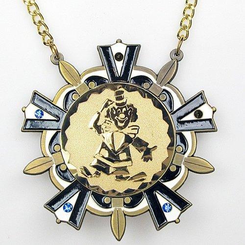 Medaille Baernd Goud blauw-wit ø9cm