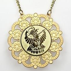 Medaille Baltasar Goud-misty ø9cm