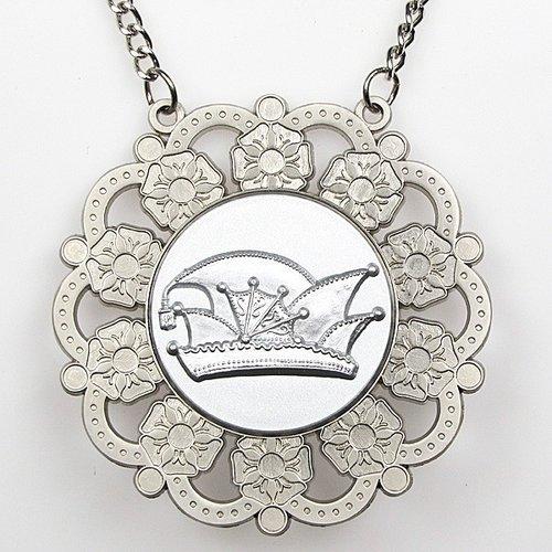 Medaille Baltasar Zilver-misty ø9cm