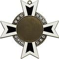 Medaille Baruch Goud-antiek zwart-wit 11x11cm