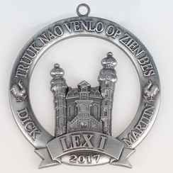 Speciale medaille 3D tot 100 mm