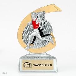 Trofee Hardlopen 10cm