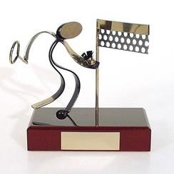 Trofee badminton 15cm