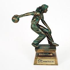 Trofee Bowling dame 23,5cm