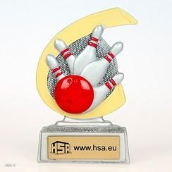 Trofee Bowling 10cm